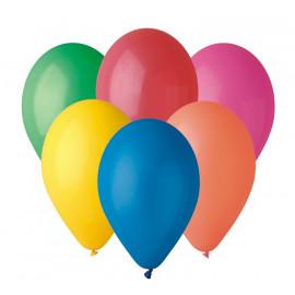"""Balony różnokolorowe 10"""""""