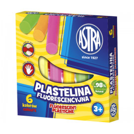 Plastelina ASTRA 6 kolorów...